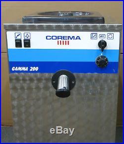 Corema Gamma 200 G200 Ice Cream / Gelato / Sorbet Batch Freezer Maker Machine