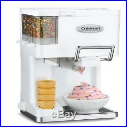 Countertop Soft Serve Ice Cream Machine Electric Maker Frozen Yogurt Sorbet Home