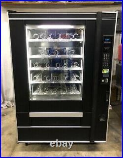 Crane National 455 Frozen Food & Ice Cream Vending Machine LED $1's & $5's