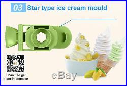 DIY Ice Cream Maker for Kids Gift, home use sorvete soft ice cream machine
