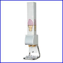 Dispense-Rite BCDS-BFL Ice Cream Cone Dispenser Stand for Boxed Cones