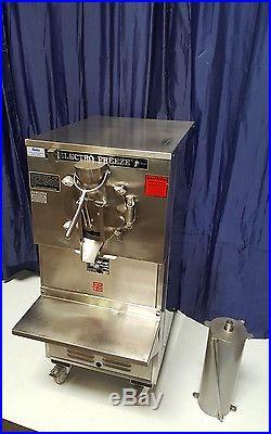 ELECTRO FREEZE 12 or 24 quarts ICE CREAM Machine Batch Freezer MODEL FT-1