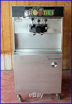 ELECTRO FREEZE 30TCAB Soft Serve Ice Cream Machine / 2 Flavor + Twist Air Cooled