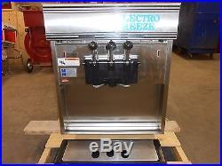 Electro Freeze 55tf-232 Ice Cream / Yogurt Machine With 2 Flavors And Twist