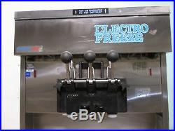 ELECTRO FREEZE COMMERCIAL 2FLAVOR+TWIST SOFT-SERVE ICE CREAM, 1Ph, WATER COOLED