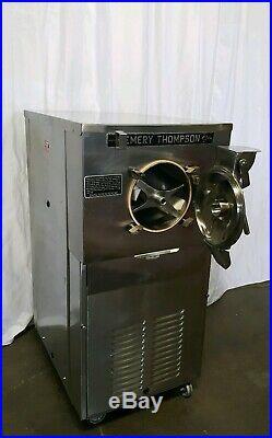 EMERY THOMPSON 24 Quarts Ice Cream Gelato Batch Freezer