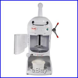 Electric Auto Ice Cream Shaver Shaving Machine Snow Ice Shaver Maker Commercial