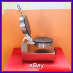 Electric Commercial Nonstick Electric Ice Cream Cone Machine Egg Roll Maker