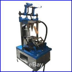 Electric Double Cones Maker 110V Commercial Automatic Ice Cream Cone Machine