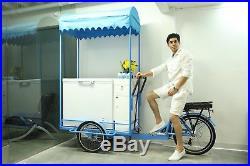 Electric Ice-Cream Bike/Beverage Bike Self &Battery Powered-Temperature Control