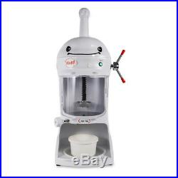 Electric Snow Ice Shaver Ice Cream Shaving Maker Machine Crusher Commercial USA