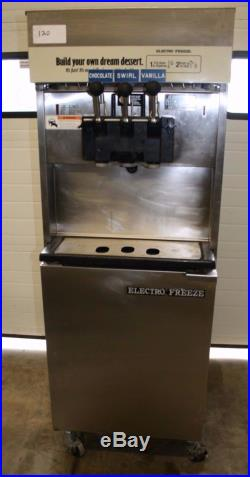 Electro Freeze 88T-RMT 2 Flavor Twist Soft Serve Ice Cream Pressure Fed