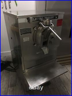 Electro Freeze Batch Machine