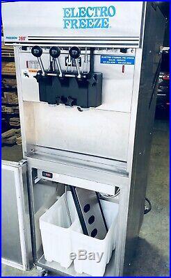 Electro Freeze Frozen Yogurt Ice Cream Machine 99t-rmt-132