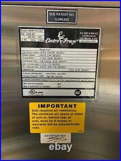 Electro Freeze Frozen Yogurt Machines Soft Serve 44rmtfb -232s Taylor ice cream