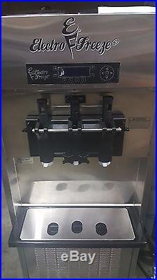 Electro Freeze Soft Serve Ice Cream Frozen Yogurt Gravity Machine