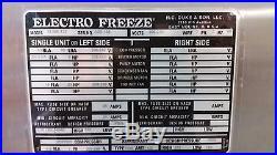 Electro Freeze Soft Serve Ice Cream Yogurt Machine SL500-132 Slim Line 5 Units