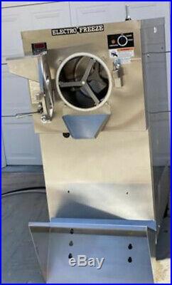 Electro freeze 12 quart batch freezer Model B12E