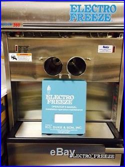 Electro freeze ice cream Soft Serve machine 30T