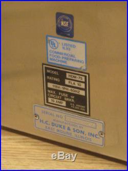 Electrofreeze Commercial Stainless Ice Cream Milkshake Blender Mixer HDM-75