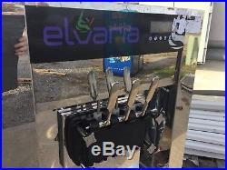 Elvaria 3 Head Soft Serve Frozen Yogurt Ice Cream Machine