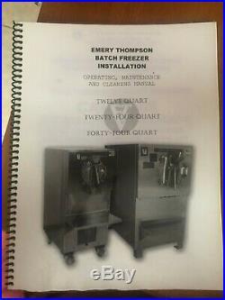 Emery Thompson 2017 24 Qt 24nwioc 1 Phase Water Cooled