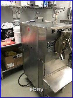 Emery Thompson 20qt. Batch Freezer. Very good condition. 3P water cooled