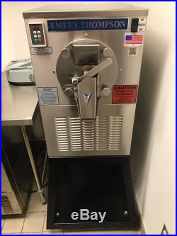Emery Thompson CB-350 with stand, ice cream machine, perfect condition