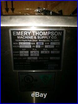 Emery Thompson Cb 350 Ice Cream Machine