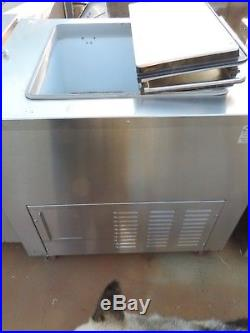 FREEZER ICE CREAM DIPPING CABINET WithFLIP TOP LIDS(stainless steel)