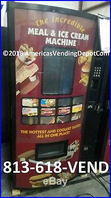 FastCorp 820 Ice Cream & Frozen Food Vending Machine Local Delivery/Warranty