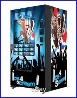 Fastcorp Evolution Ice Cream Frozen Food Vending Machine MDB FREE SHIPPING