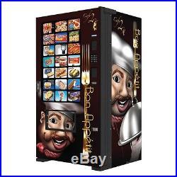 Fastcorp Evolution Ice Cream Frozen Food Vending Machine Model Reconditioned
