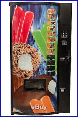 Fastcorp Ice Cream Frozen Ice Cream Vending Machine Model F820 Reconditioned