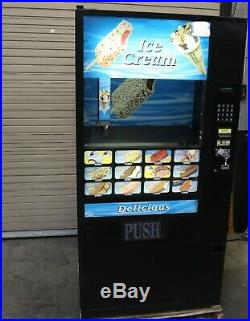 Fastcorp Ice Cream vending machine model 631 working and tested good