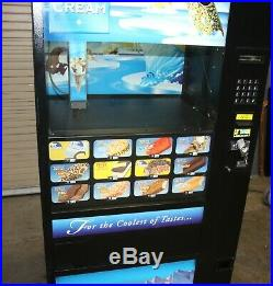 Fastcorp model 631 ice cream frozen food vending machine tested good