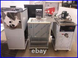 Finamac Turbo 8 commercial ice pop maker pasteurizer, homogenizer, pallet machine