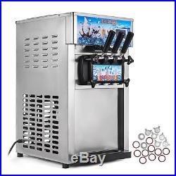 Flavors Machine Frozen Ice Cream Cones Commercial 3 Machine Soft Self Pick up