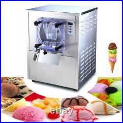 Food-Grade 1 PC 110V Commercial Hard Ice Cream Maker Machine 12-20L/Hour Newest