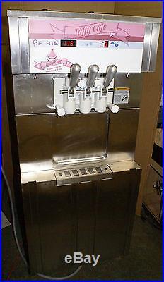 Forte SS100 Soft Serve Ice Cream Machine Maker Two Flavor Twist Frozen Yogurt