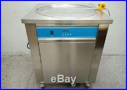 Free Tax smart Thai fried ice cream roll machine single 50 cm pan 110v/220v