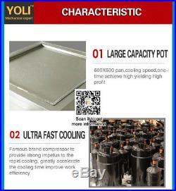 Free shipping, 2020 inch big square pan thai fried ice cream machine, r410a, 110v