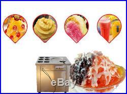 Fried Ice Cream machine Ice Cream Maker For Yogurt with 1 Pan Six Buckets 220V Y