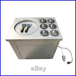 Fried Ice Machine Fried Ice Cream Machine Roll Ice Cream Making Machine Hot