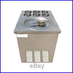 Fried Ice Machine Fried Ice Cream Machine Roll Ice Cream Making Machine One pan