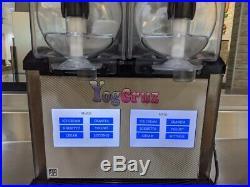Frozen Yogurt & Ice Cream Machine Double Tank, 4 in 1 Slush, Soft Ice Cream, Sor