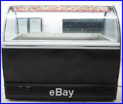 Gel Pro Ice-cream Glass Display Case Merchandiser Gelato Single Phase Electric