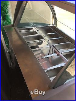 Gelato Display Case 12 Pans