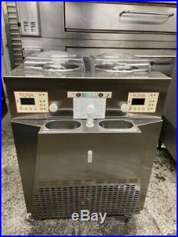 Gelato Ice Cream Batch Freezer Machine Stainless Steel BG Italy INST21-UL #3802