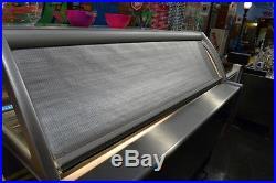 Gelato / Ice Cream Display Case 16 Pan. SEVEL USA D16 Aspen Deluxe